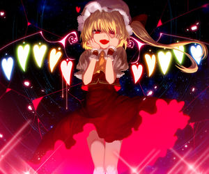 flandre scarlet and touhou image