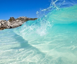 summer, beach, and water image