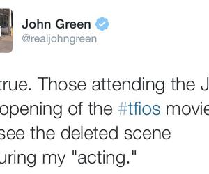 john green and tfios image