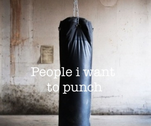 fitness, punch, and sport image