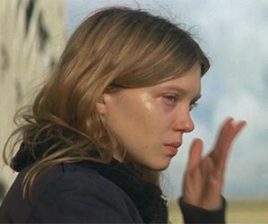 crying, Lea Seydoux, and girl image