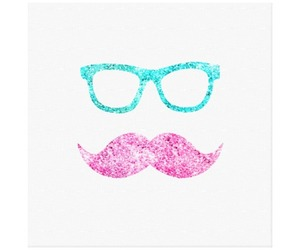 glasses, sparkles, and glitter image