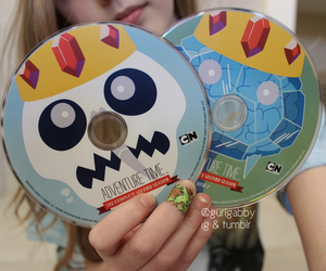 adventure time and dvd image