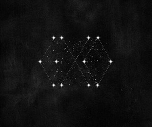 black and white, stars, and we are one image