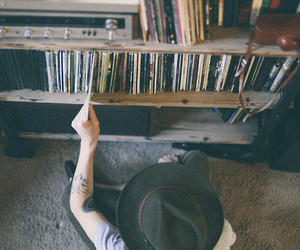 hipster, indie, and music image