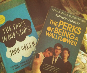 books, the fault in our stars, and john green image
