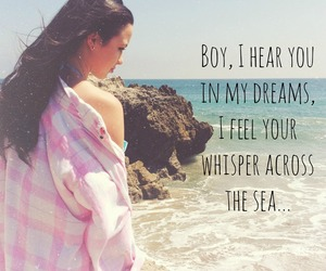 beach, dreams, and whisper image