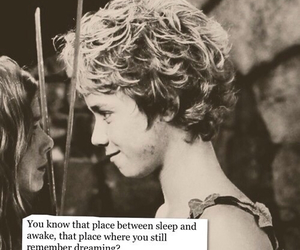 love, peter pan, and wendy image