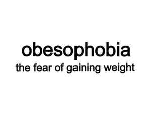alone, obese, and phobia image