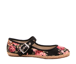 chic, flowers, and flats image