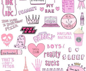 pink, wallpaper, and sassy image