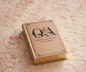 book, cute, and q&a a day image
