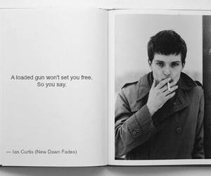ian curtis, joy division, and quote image