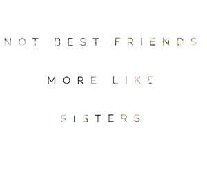 sisters, love, and bff image