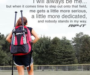 quotes and softball image