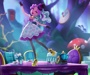 eah, ever after high, and maddie hatter image