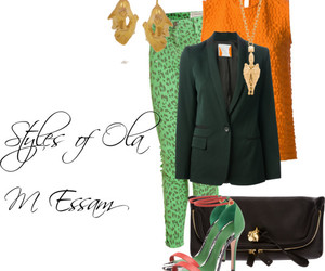 green, orange, and colorful styles image