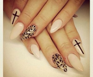 beige, fashion, and nails image
