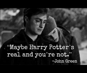 harry potter and john green image
