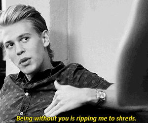 austin butler, the carrie diaries, and love image