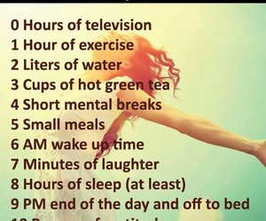 habits, healthy, and health tips image