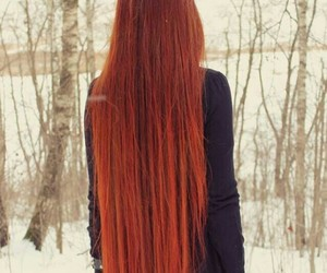 ginger, red, and long image