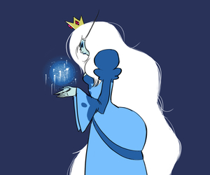 ice queen and adventure time image