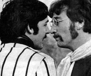 glasses, john lennon, and Paul McCartney image