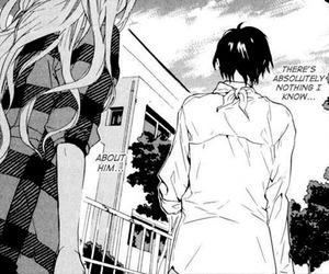 black and white, manga, and birdcage manor image