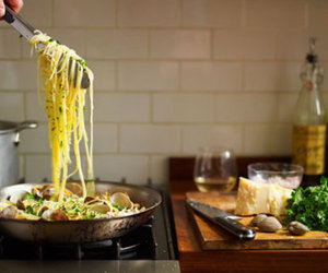 food, pasta, and cooking image
