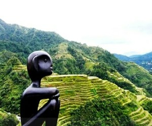 Philippines and banaue rice terraces image