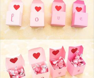 love, diy, and boxes image