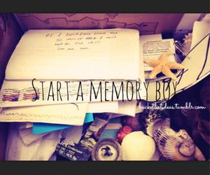 box, memory, and bucket list image