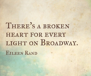 broadway, broken, and hearts image