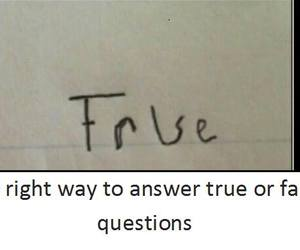 answer and funny image