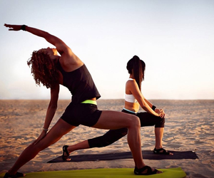 fit, fitness, and yoga image