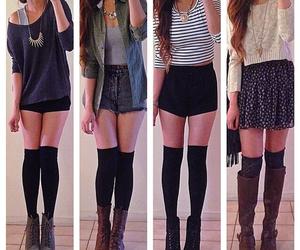 fashion, shorts, and Hot image