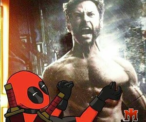 funny, deadpool, and Marvel image