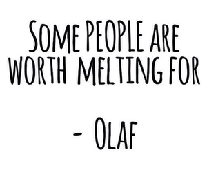 quotes, olaf, and frozen image