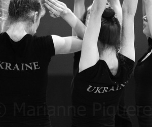 gymnastics, rhythmic, and team image