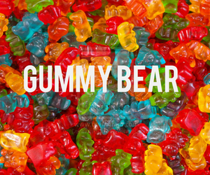 sweet, candy, and gummy bear image