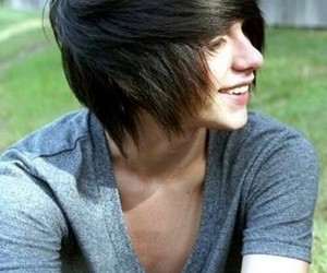 smile, cute, and emo boy image