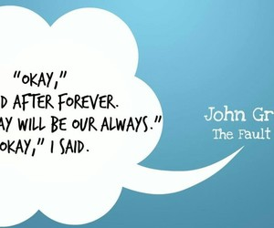 the fault in our stars, john green, and okay image