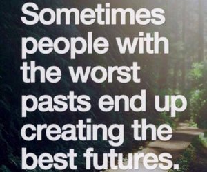future, quotes, and past image