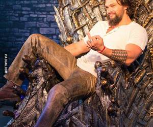 game of thrones, got, and drogo image