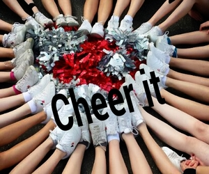 cheer, cheerleader, and dance image