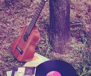music, guitar, and nature image