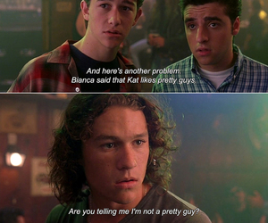 10 things i hate about you, funny, and heath ledger image