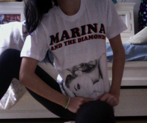 marina and the diamonds, girl, and pale image