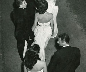 black and white, couples, and vintage image